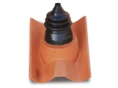 - Clay ridge tile Clay Connection roof tile - Gruppo Industriale Tegolaia