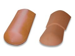 - Clay end ridge tile End ridge tile - Gruppo Industriale Tegolaia
