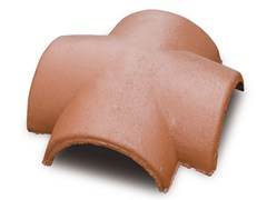 - 4 ways cement ridge tile 4 ways ridge tile - Gruppo Industriale Tegolaia