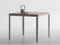 - Square MDF table TYPE   Square table - iCarraro italian makers