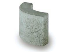 - Wheel stop parking kerb C8 90° R21 - Gruppo Industriale Tegolaia