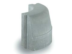 - Wheel stop parking kerb C15/H25 R35 - Gruppo Industriale Tegolaia
