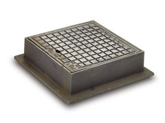 - Cast iron Drainage channel and part Manhole cover - Gruppo Industriale Tegolaia