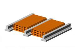 - Hollow clay floor slab block Floor slab 13 14 - Single beam - FORNACI SCANU