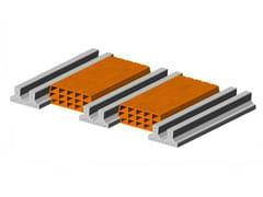 - Hollow clay floor slab block Floor slab 13 14 - Double beam - FORNACI SCANU