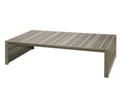 - Rectangular aluminium garden side table YUYUP | Rectangular coffee table - MAMAGREEN
