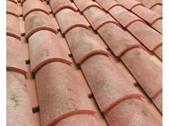 - Clay bent roof tile COPPO GALLURA ANTICATO - Gruppo Industriale Tegolaia