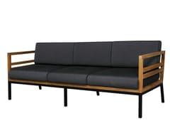 - 3 seater Sunbrella® garden sofa ZUDU | 3 seater sofa - MAMAGREEN