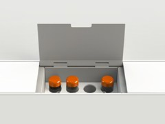 - Kitchen equipped track EASYRACK KITCHEN FLAT | Spice box - DOMUSOMNIA
