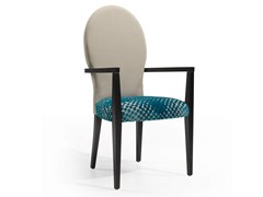 - Upholstered chair with armrests ICE OVAL DAN CB - Fenabel - The heart of seating