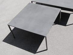 - Square cement table BOIACCA | Square table - Kristalia
