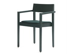 - Wooden chair with armrests INTRO B | Chair - Inno Interior Oy