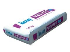 - Smoothing compound VELVET M - Knauf Italia