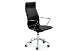 - Swivel executive chair with armrests with casters .TALLIS | Executive chair - Spiegels
