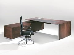 - Rectangular executive desk .TAROS - Spiegels