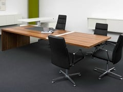 - Rectangular executive desk .TAROS XL - Spiegels