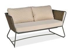 - 2 seater garden sofa PORTOFINO | 2 seater sofa - Roberti Rattan