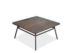 - Square garden side table PORTOFINO | Square coffee table - Roberti Rattan