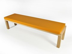 - Upholstered wooden bench CAMPING BENCH 220 | Upholstered bench - Quinze & Milan