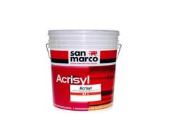 Rivestimento murale acril-silossanico antimuffa antialgaACRISYL KP 1 - COLORIFICIO SAN MARCO