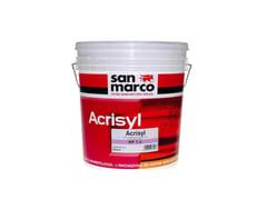 Rivestimento murale acril-silossanico antimuffa antialgaACRISYL KP 1,5 - COLORIFICIO SAN MARCO