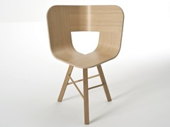 - Multi-layer wood chair TRIA WOOD | Chair - Colé Italian Design Label