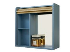 - Wall cabinet with mirrored back with shelves TAPPARELLE | Wall cabinet with mirrored back - Colé Italian Design Label
