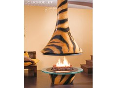 - Open central fireplace EVA 992 TIGRE - JC Bordelet Industries