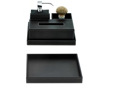 - Imitation leather storage box BROWNIE TAB Q/R - DECOR WALTHER