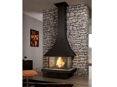 - Closed fireplace with panoramic glass JULIETTA 985 | Closed fireplace - JC Bordelet Industries