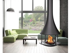 - Open hanging fireplace ZELIA 908 | Hanging fireplace - JC Bordelet Industries