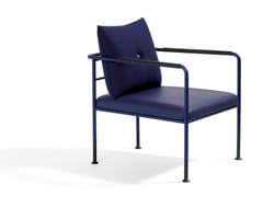 - Upholstered armchair with armrests MORRIS JR | Armchair - Blå Station