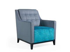 - Fabric armchair with armrests NOTY | Armchair - Fenabel - The heart of seating