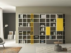 - Lacquered bookcase SPEED P - Dall'Agnese