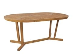 - Oval garden table KOROGATED | Oval table - WARISAN