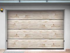 Portone da garage sezionale in arenariaSANDSTONE JEWELS - BREDA SISTEMI INDUSTRIALI