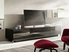 - Lacquered TV cabinet with built-in speakers NEXO | Lacquered TV cabinet - Hülsta-Werke Hüls