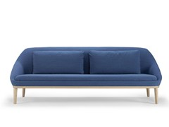 - Fabric sofa EZY WOOD | Sofa - Offecct