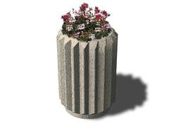 - Concrete Flower pot COROLLA - Gruppo Industriale Tegolaia