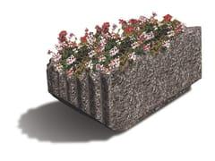 - Concrete Flower pot PETALO - Gruppo Industriale Tegolaia