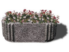 - Concrete Flower pot SATURNO - Gruppo Industriale Tegolaia