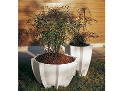 - Concrete Flower pot CHICAS - Gruppo Industriale Tegolaia