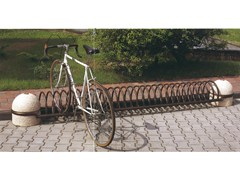 - Bicycle rack SUPERSPIROBIKE - Gruppo Industriale Tegolaia