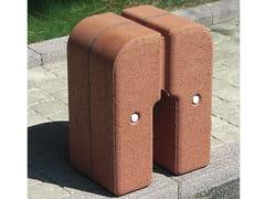 - Concrete bollard TOTEM - Gruppo Industriale Tegolaia