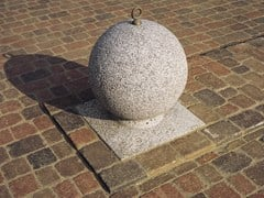 - Concrete sphere bollard with base SFERA - Gruppo Industriale Tegolaia