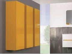 - Tall bathroom cabinet with doors QU32   Tall bathroom cabinet - Mobiltesino