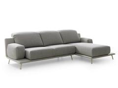 - Fabric sofa with chaise longue PALETA | Sofa - LEOLUX
