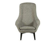 - Fabric easy chair high-back DIDRIK - Hamilton Conte Paris