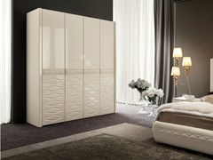 - Lacquered wardrobe with folding doors CHANEL | Wardrobe with folding doors - Dall'Agnese