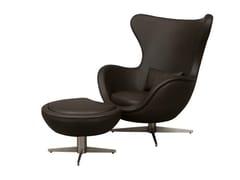 - Wingchair with 4-spoke base IDA | Armchair with 4-spoke base - Hamilton Conte Paris